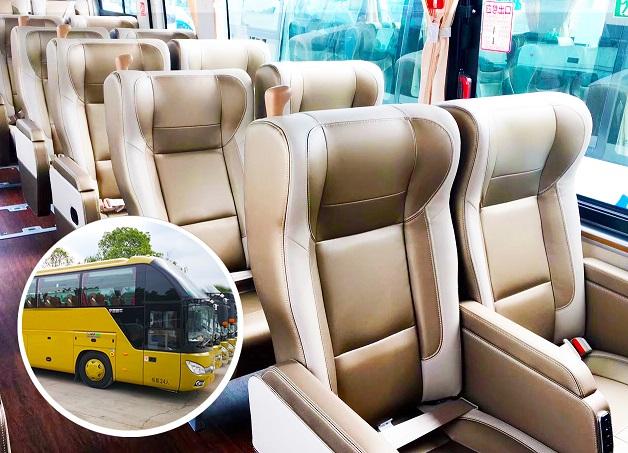34座头等舱航空座椅旅游车