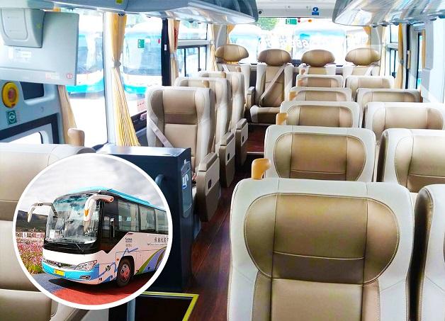 19座头等舱航空座椅旅游车