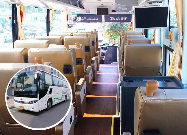 26座头等舱航空座椅旅游车